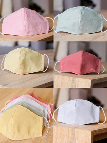 Solid Color Breathable Masks