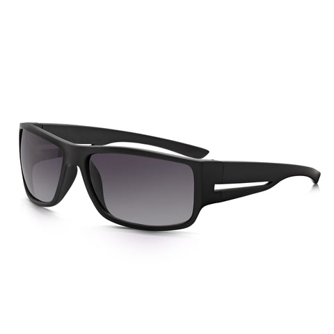 Sunglassjunkie Black Square Wrap Sunglasses