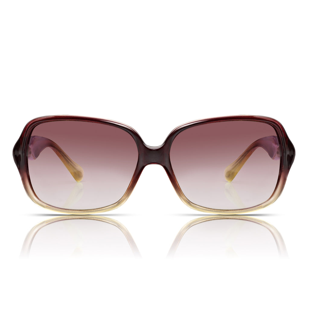Sunglassjunkie Berry Glamour Twist Sunglasses
