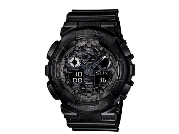 Casio G-Shock Analog-Digital GA-100CF-1A Uhr (Neu mit Etikett)