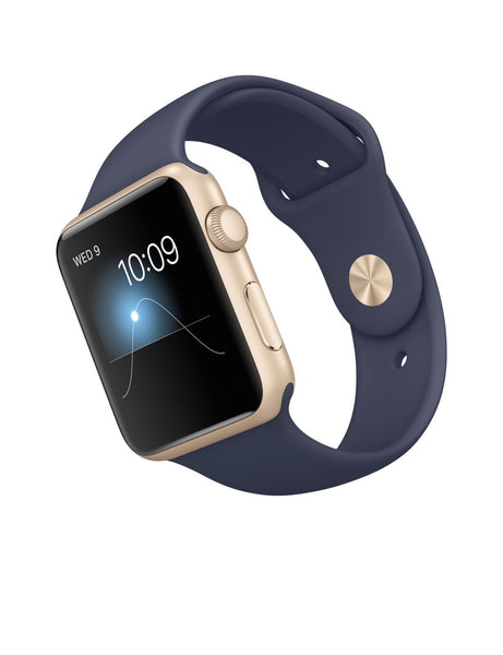 Apple Watch Sport 42mm Aluminum Hülle MLC72 (Midnight Blau)