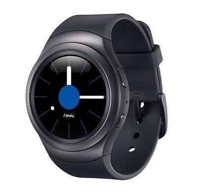 Samsung Gear S2 SM-R720 Smart Watch (Dunkel Grau)
