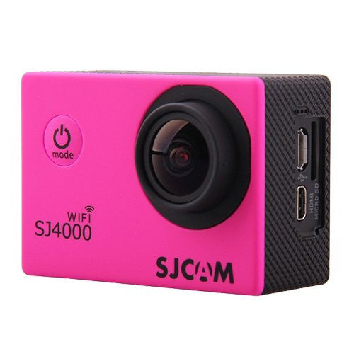 SJCAM SJ4000 WiFi 1080p Full HD DVR Action Sport Kamera Rosa