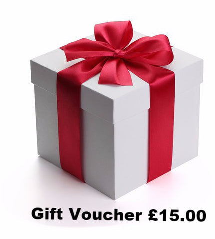 Gift Voucher £15.00 (that you can send by email)
