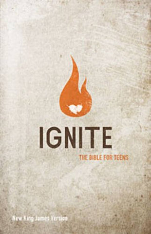 NKJV Bible Ignite The Bible for teens
