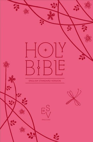 Holy Bible:  English Standard Version (ESV) Anglicised Pink Compact Gift Edition with Zip