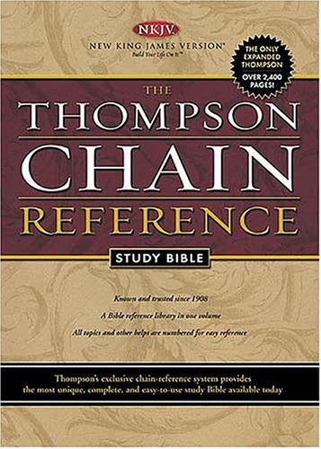 Thompson Chain Reference Study Bible NKJV