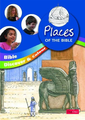 Bible Discover and Colour: Places of the Bible
