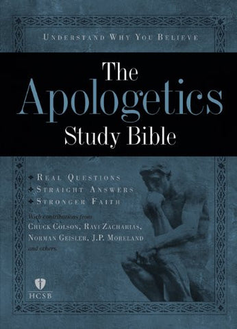 Apologetics Study Bible-HCSB: Holman Christian Standard Bible