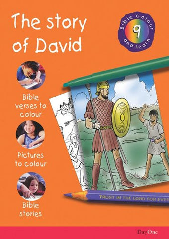 Story of David (Bible Colour and Learn 9)