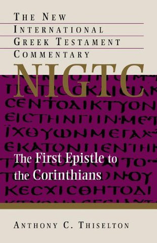 The First Epistle to the Corinthians PB