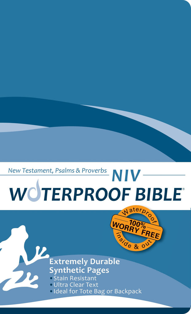 NIV Waterproof Bible: New Testament Psalms & Proverbs