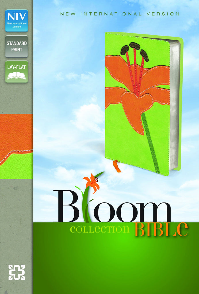 NIV Thinline Bloom Collection Bible: New International Version, Tiger Lily, Italian Duo-Tone, Thinline Bloom Collection Bible