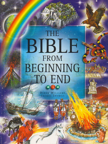 The Bible from beginning to end.