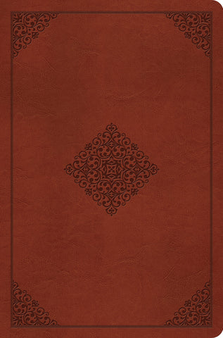ESV Compact Outreach Bible, Premium Edition: English Standard Version, Outreach, TruTone Saddle, Ornament Design