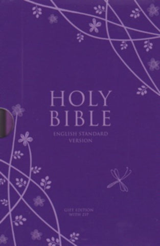Holy Bible:  English Standard Version (ESV) Anglicised Purple Compact Gift Edition with Zip