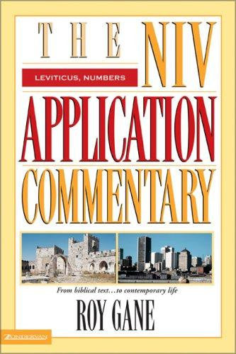 The NIV Application Commentary:  Leviticus, Numbers