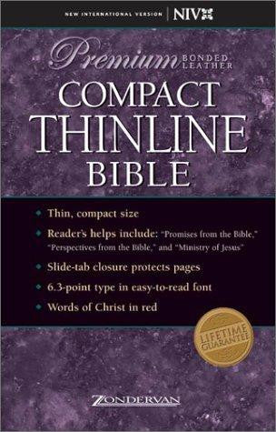 NIV Compact Thinline Bible: Premium Edition