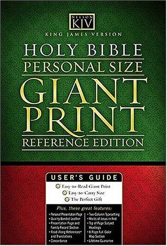 King James Compact Giant Print Bible