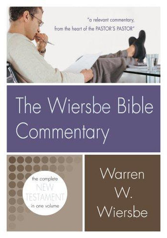 Wiersbe Bible Commentary New Testament: New Testament HB