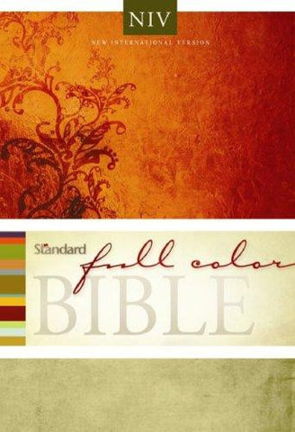 Holy Bible NIV Standard Full Color Bible