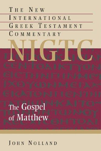 The Gospel of Matthew HB