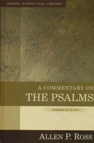 Commentary on the Psalms Volume 1