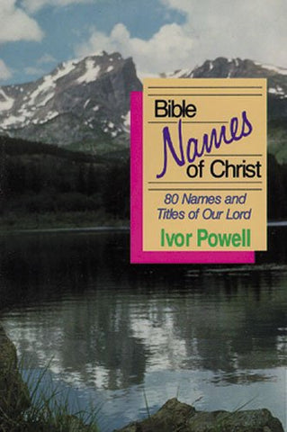 Bible Names of Christ PB