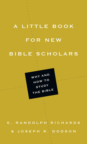 A Little Book for New Bible Scholars PB