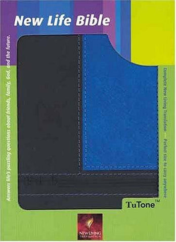 Holy Bible New Life Bible-Nlt (Tutone Bibles) Imitation Leather