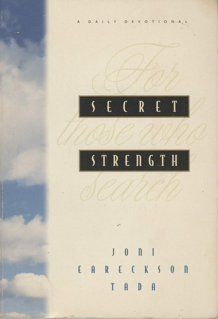 Secret Strength:  For Those who Search PB