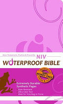 Waterproof Bible - NIV - New Testament Ps. and Pr. - Pink