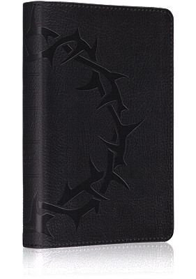 ESV Compact Bible: English Standard Version, Deluxe Compact Trutone Charcoal Crown Design