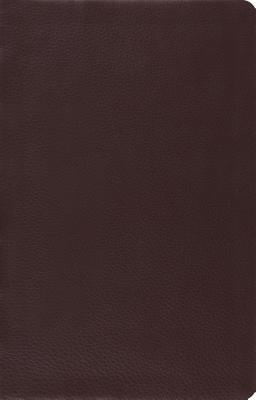 ESV Large Print Thinline Reference Bible: English Standard Version Large Print Thinline Reference Bible Top Grain Leather Brown