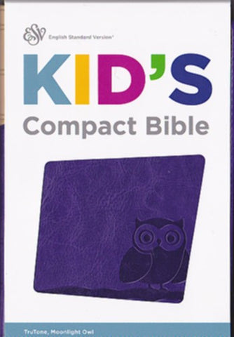 ESV Kid's Compact Bible: English Standard Version, Moonlight Owl, Trutone, Kid's Compact Bible