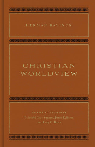 Christian Worldview: Herman Bavinck HB
