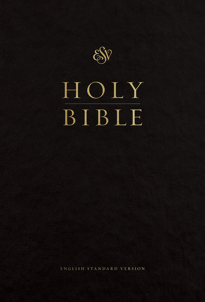 ESV Pew and Worship Bible, Large Print: English Standard Version, Black, Pew and Worship