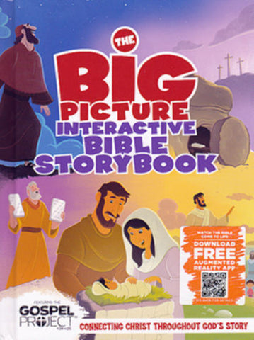 The Big Picture Interactive Bible Storybook: Connecting Christ Throughout God S Story