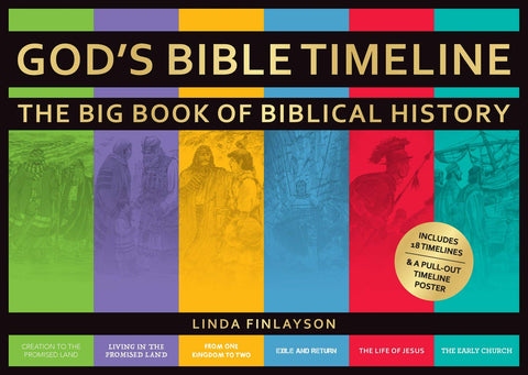 God's Bible Timeline: The Big Book of Biblical History HB