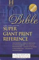 Super Giant Print Reference Bible-KJV: Super Giant Print Reference Bible King James Version