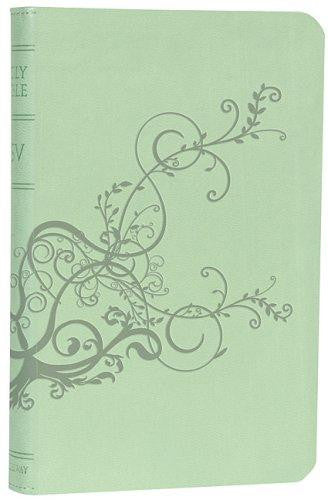 ESV, Personal Size Reference Bible (TruTone, Cool Mint, Ivy)