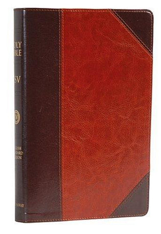 ESV Classic Reference Bible, TruTone, Brown/Cordovan, Portfolio Design