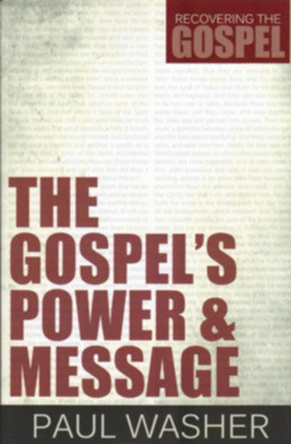 The Gospel's Power and Message PB