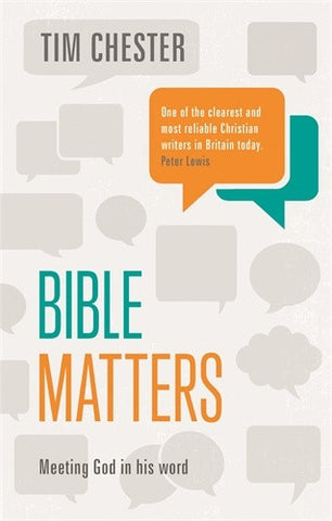 Bible Matters: Hearing God's Word
