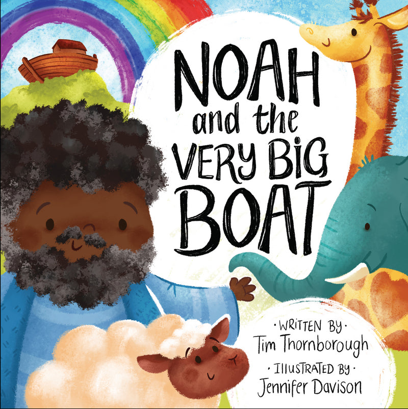 Noah and the Very Big Boat HB