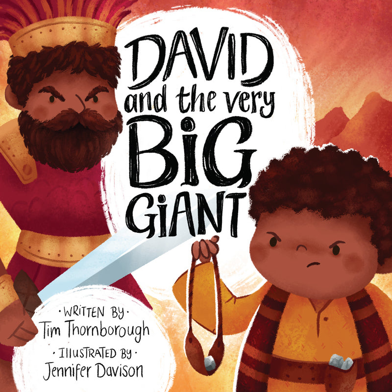 David and the Very Big Giant HB