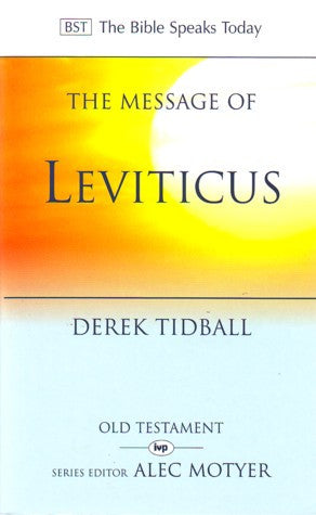 Message of Leviticus:  Free to be Holy
