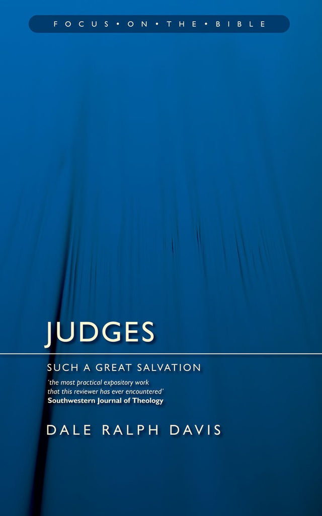 Judges  Such A great Salvation