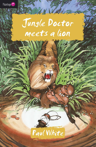 #9 Jungle Doctor Meets a Lion