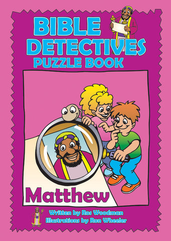 Bible Detectives Puzzle Book:  Matthew